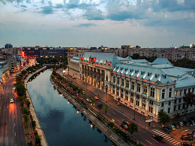 Photograph - The Palace Of Justice, Bucharest by Chris M
