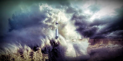 Photograph - The Perfect Storm by Lilia D