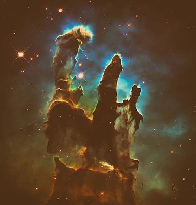 The Void Photograph - The Pillars Of Creation by Mountain Dreams