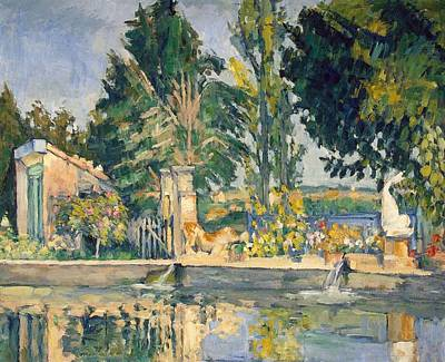 Painting - The Pond by Paul Cezanne