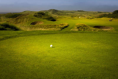 Sports Photograph - The Postage Stamp - Royal Troon Golf Course by Alex Saunders