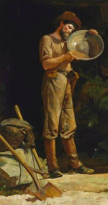 The Prospector  Art Print by Julian Ashton