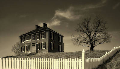 Photograph - The Pry House - Antietam by L O C