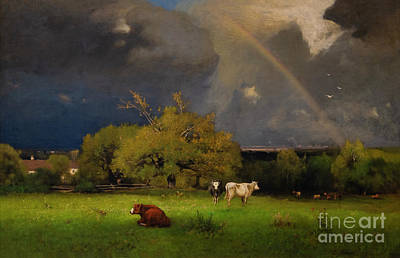 Painting - The Rainbow by George Inness