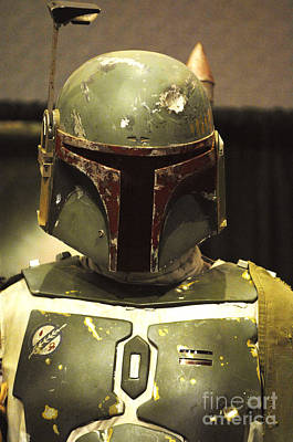 Boba Photograph - The Real Boba Fett by Micah May