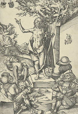 Relief - The Resurrection, From The Passion by Lucas Cranach the Elder