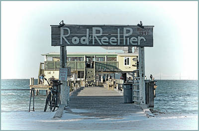 Photograph - The Rod And Reel Pier by HH Photography of Florida