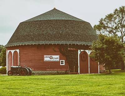 Photograph - The Round Barn by L O C