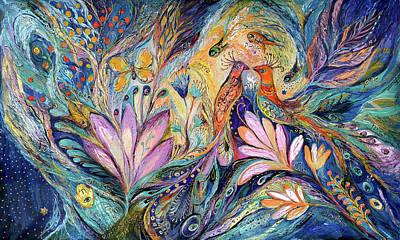 The Sea Song Art Print by Elena Kotliarker
