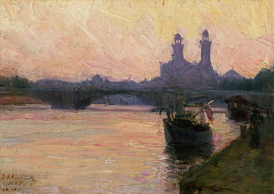 Painting - The Seine by Henry Ossawa Tanner