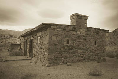 Photograph - The Settlement At Lonely Dell by Teresa Wilson