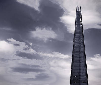 Urban Exploration Photograph - The Shard London by Martin Newman