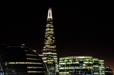 The Shard Art Print by Martin Newman