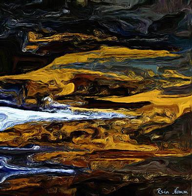Digital Art - The Shore Of Despair by Rein Nomm