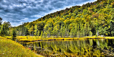 Photograph - The South Shore Of Bald Mountain Pond by David Patterson