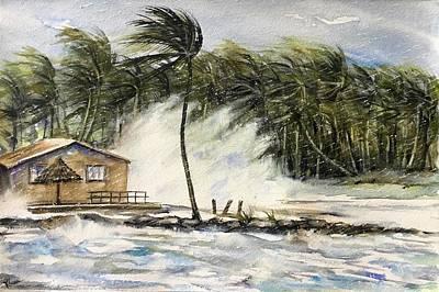 Painting - The Storm by Katerina Kovatcheva