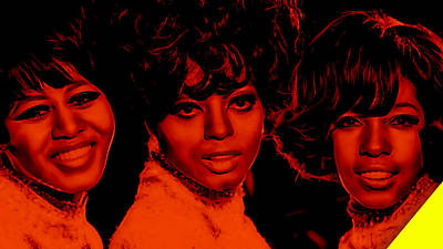 The Supremes Collection Art Print