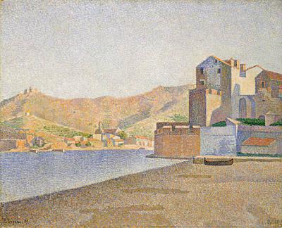 Painting - The Town Beach, Collioure, Opus 165 by Paul Signac