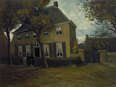 Building Painting - The Vicarage At Nuenen by Vincent van Gogh