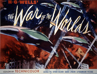 1930s Poster Art Photograph - The War Of The Worlds, 1953 by Everett