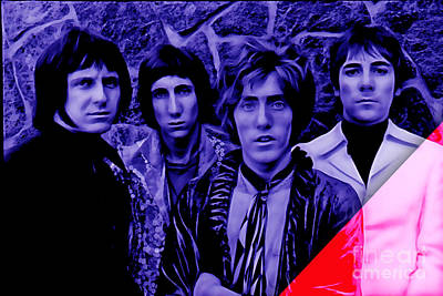 Rock Art Digital Art - The Who Collection by Marvin Blaine