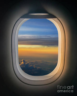 Surrealism Royalty Free Images - The Window Seat  Royalty-Free Image by Michael Ver Sprill