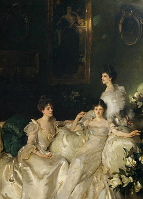 Painting - The Wyndham Sisters by John Singer Sargent