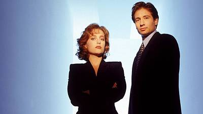 The X Files Digital Art - The X Files                    by F S