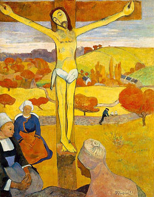The Yellow Christ Art Print by Paul Gauguin