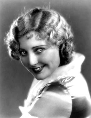 Thelma Photograph - Thelma Todd, Portrait Ca. 1935 by Everett