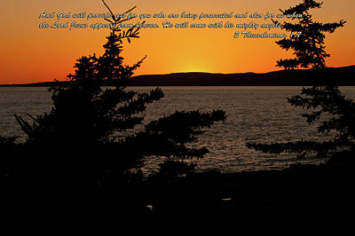 Photograph - 2 Thessalonians 1-7 by Paul Mangold