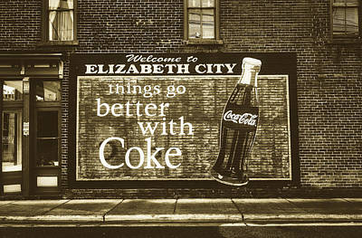Photograph - Things Go Better With Coke by Library Of Congress