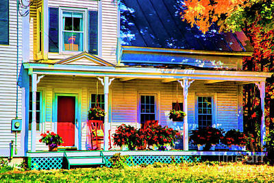 Photograph - This Old House by Rick Bragan