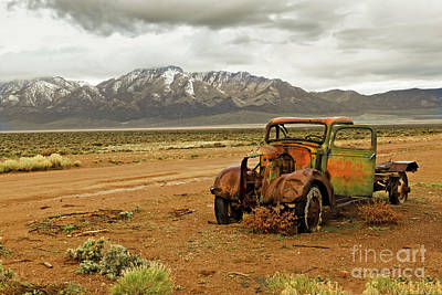 Photograph - This Old Truck  by Robert Bales