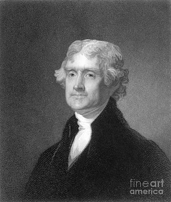 Photograph - Thomas Jefferson (1743-1826) by Granger