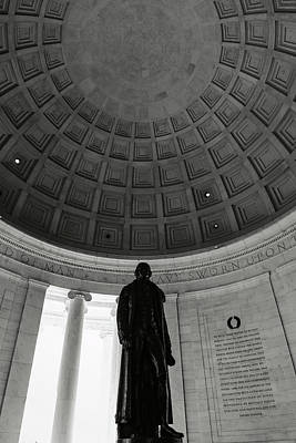 Photograph - Thomas Jefferson Statue by Brandon Bourdages