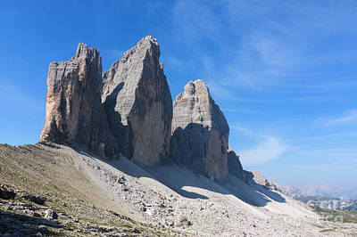Photograph - Three Heights Of Lavaredo by Pietro Ebner