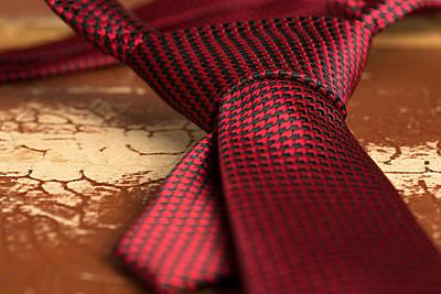 Black Tie Mixed Media - Tie by Boyan Dimitrov