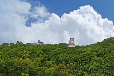 Tikal, Guatemala Art Print by Marius Sipa
