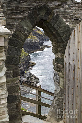 Photograph - Tintagel Castle Kastel Dintagel by Brian Roscorla