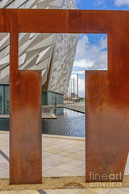 Photograph - Titanic Belfast by Jim Orr