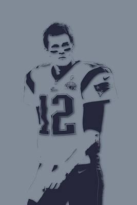 Patriots Photograph - Tom Brady Patriots by Joe Hamilton