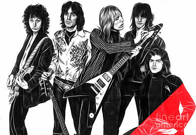 Tom Petty Mixed Media - Tom Petty And The Heartbreakers Collection by Marvin Blaine