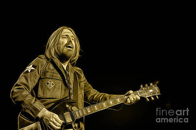 Tom Petty Mixed Media - Tom Petty Collection by Marvin Blaine