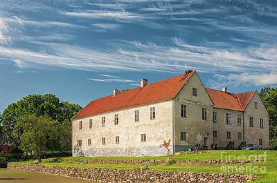 Photograph - Tommarps Kungsgard Castle by Antony McAulay