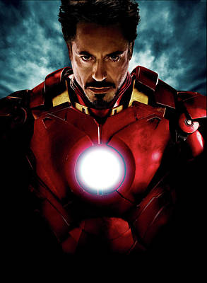 Novel Digital Art - Tony Stark Iron Man by Unknown