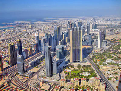 Top View. Burj Khalifa. Original by Andy Za