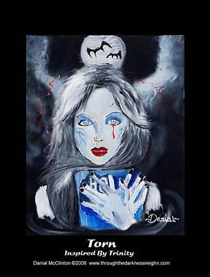 Fantasy Painting - Torn by Danial Mcclinton