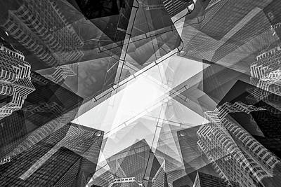 Toronto Financial District Art Print