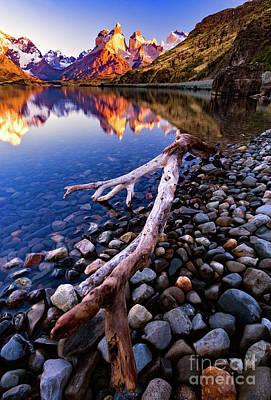 Photograph - Torres Del Paine 001 by Bernardo Galmarini
